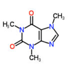 Caffeine (Image: chem242.wikispacesclassroom.com)